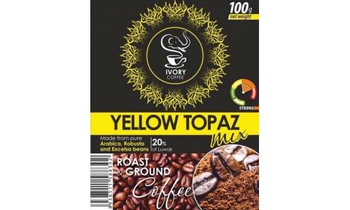 YELLOW TOPAZ MIX, молотый кофе (500 гр.)